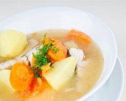 Суп из салаки