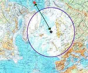 Норвежское море на карте