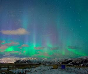 Полярная ночь в Норвегии