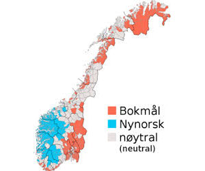 Язык в Норвегии: современное положение вещей