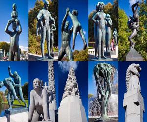 Памятники в Осло