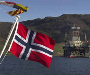 Распечатывание резервов в Норвегии