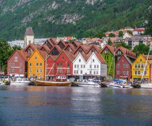 Бергенский собор в Норвегии